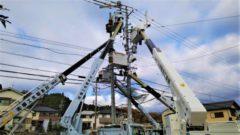 配電線工事や電気工事のことなら実績のある弊社におまかせ!